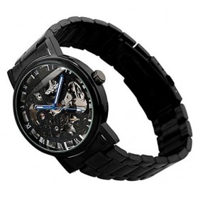 ESS Jam Tangan Mechanical  - WM282 - Black - 3