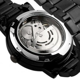 ESS Jam Tangan Mechanical  - WM282 - Black - 4