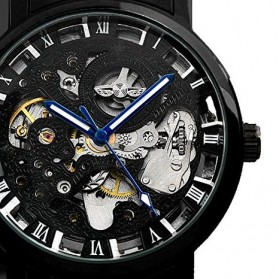 ESS Jam Tangan Mechanical  - WM282 - Black - 5