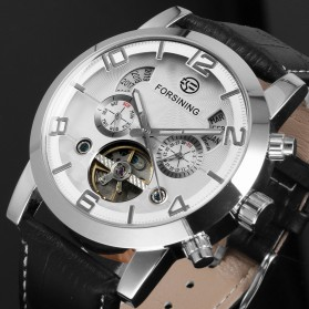 ESS Jam Tangan Mechanical - WM448 - Silver - 5