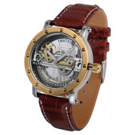 ESS Jam Tangan Mechanical - WM455 - Brown/Gold - 2
