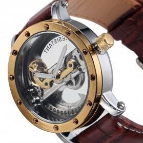 ESS Jam Tangan Mechanical - WM455 - Brown/Gold - 4