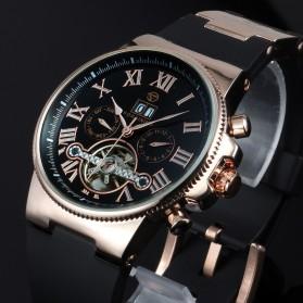 ESS Jam Tangan Mechanical - WM443/447 - Black Gold - 2