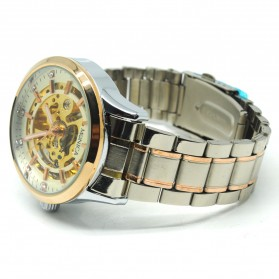 ESS Jam Tangan Mechanical - WM474/475/476 - Silver/Rose - 3
