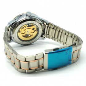 ESS Jam Tangan Mechanical - WM474/475/476 - Silver/Rose - 4
