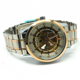 ESS Jam Tangan Mechanical - WM474/475/476 - Silver/Rose - 5