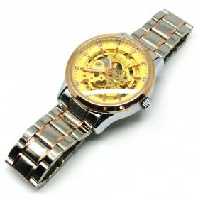 ESS Jam Tangan Mechanical - WM474/475/476 - Golden - 2