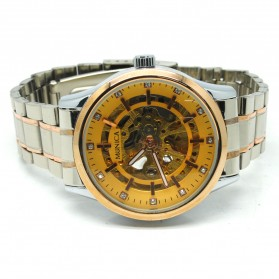 ESS Jam Tangan Mechanical - WM474/475/476 - Golden - 3