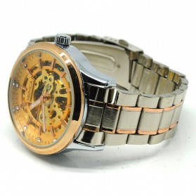 ESS Jam Tangan Mechanical - WM474/475/476 - Golden - 5