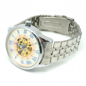ESS Jam Tangan Mechanical - WM479/480 - White/Silver - 2