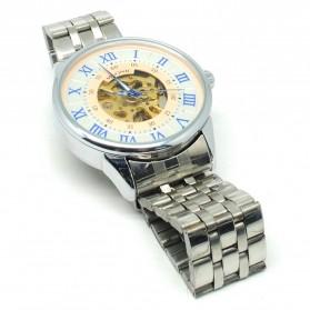 ESS Jam Tangan Mechanical - WM479/480 - White/Silver - 3