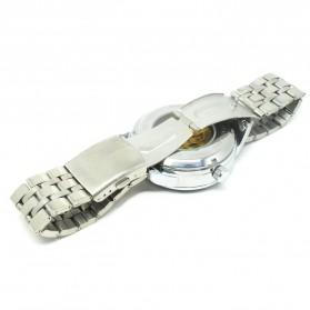 ESS Jam Tangan Mechanical - WM479/480 - Silver Black - 5