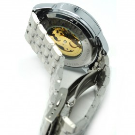 ESS Jam Tangan Mechanical - WM477/478 - Black/Silver - 5