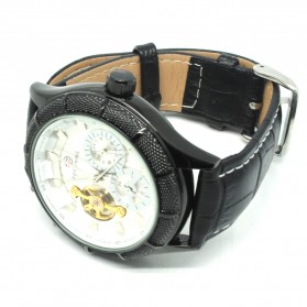 ESS Jam Tangan Mechanical - WM457/458 - Black White - 2