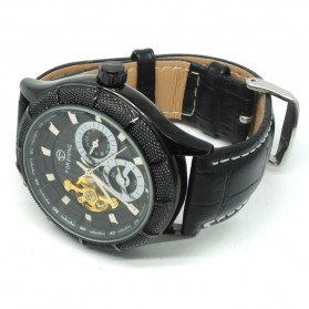 ESS Jam Tangan Mechanical - WM457/458 - Black/Black - 2
