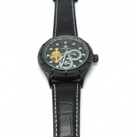 ESS Jam Tangan Mechanical - WM457/458 - Black/Black - 3