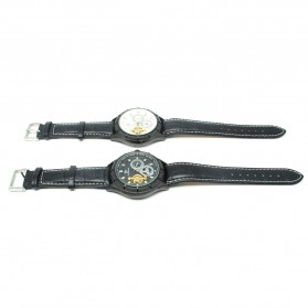 ESS Jam Tangan Mechanical - WM457/458 - Black/Black - 6