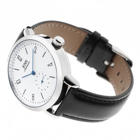 ESS Jam Tangan Mechanical Automatic Leather Strap - WM573/591/592 - Black - 2