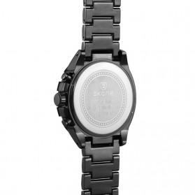 SKONE Casio Man Fashion Watch Water Resistant 30m - 7386BG - White/Black - 2