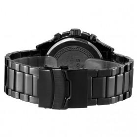 SKONE Casio Man Fashion Watch Water Resistant 30m - 7386BG - White/Black - 3
