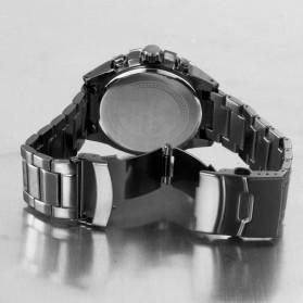 SKONE Casio Man Fashion Watch Water Resistant 30m - 7386BG - White/Black - 5