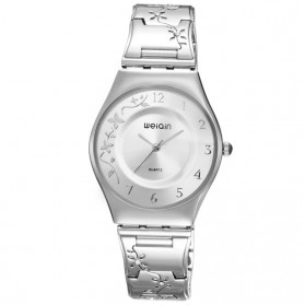 WEIQIN Woman Fashion Watch Water Resistant 30m - W4824 - Silver