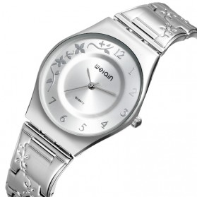 WEIQIN Woman Fashion Watch Water Resistant 30m - W4824 - Silver - 2