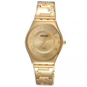 WEIQIN Woman Fashion Watch Water Resistant 30m - W4824 - Golden