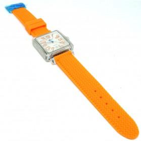 Weiqin Jam Tangan Wanita Kotak Elegant - wei49505152 - Orange - 3