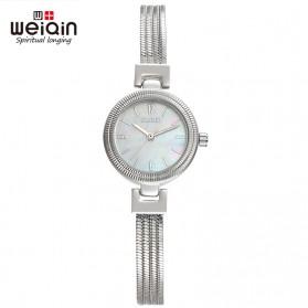 Weiqin Jam Tangan Kasual Wanita - Wei010203 - Silver