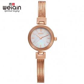 Weiqin Jam Tangan Kasual Wanita - Wei010203 - Rose Gold