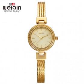 Weiqin Jam Tangan Kasual Wanita - Wei010203 - Golden