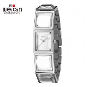 Weiqin Jam Tangan Kasual Wanita - Wei1314 - Silver - 1