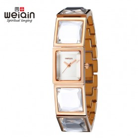 Weiqin Jam Tangan Kasual Wanita - Wei1314 - Rose Gold - 1