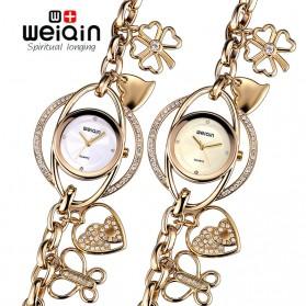 Weiqin Jam Tangan Analog Wanita - wei9798 - Golden