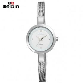 Weiqin Jam Tangan Kasual Wanita - Wei181920 - Silver