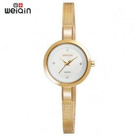 Weiqin Jam Tangan Kasual Wanita - Wei181920 - Golden - 1