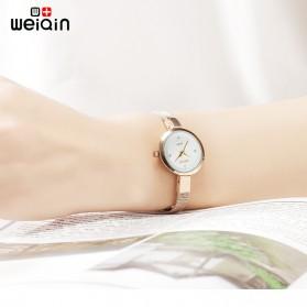 Weiqin Jam Tangan Kasual Wanita - Wei181920 - Golden - 2