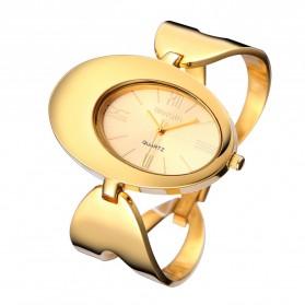Weiqin Jam Tangan Analog Wanita - wei41 - Golden