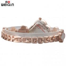 Weiqin Jam Tangan Analog Wanita - Wei3435 - Golden - 3