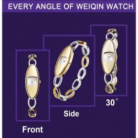 Weiqin Jam Tangan Analog Wanita - Wei7374 - Golden - 4