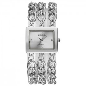 Weiqin Jam Tangan Wanita - wei6465 - Silver
