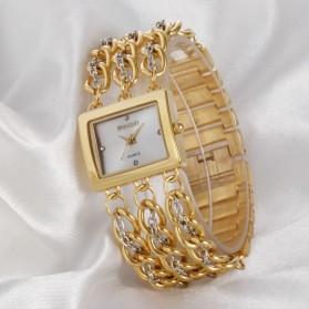 Weiqin Jam Tangan Wanita - wei6465 - Golden - 6