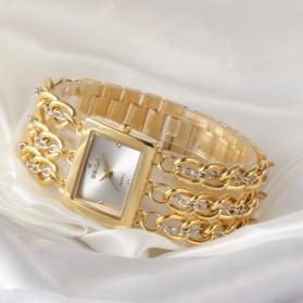 Weiqin Jam Tangan Wanita - wei6465 - Golden - 7