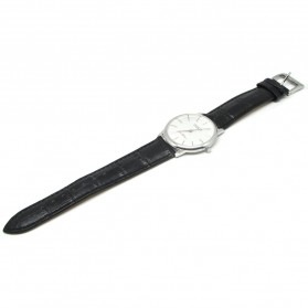 Ousion Quartz Men Leather Band Fashion Watch - OL327G - White