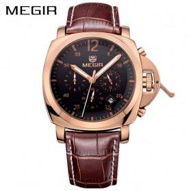 MEGIR Jam Tangan Analog - ML3006G - Rose Gold - 1