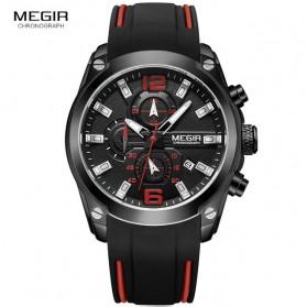 MEGIR Jam Tangan Analog Pria - M2063 - Black