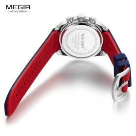 MEGIR Jam Tangan Analog Pria - M2063 - Black - 5