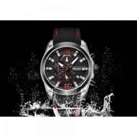 MEGIR Jam Tangan Analog Pria - M2063 - Black - 7