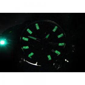 MEGIR Jam Tangan Analog Pria - M2063 - Black - 9
